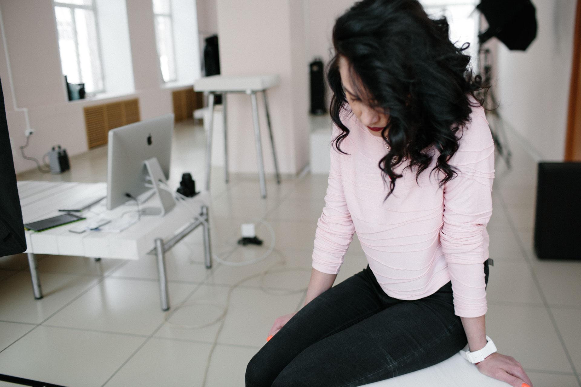 Маша Артемьева,  фотосъёмка 29 января 2017 года
