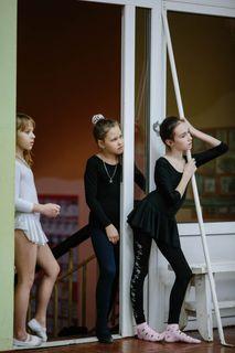 Альбом 15. На репетициях студии классического балета в Вельске