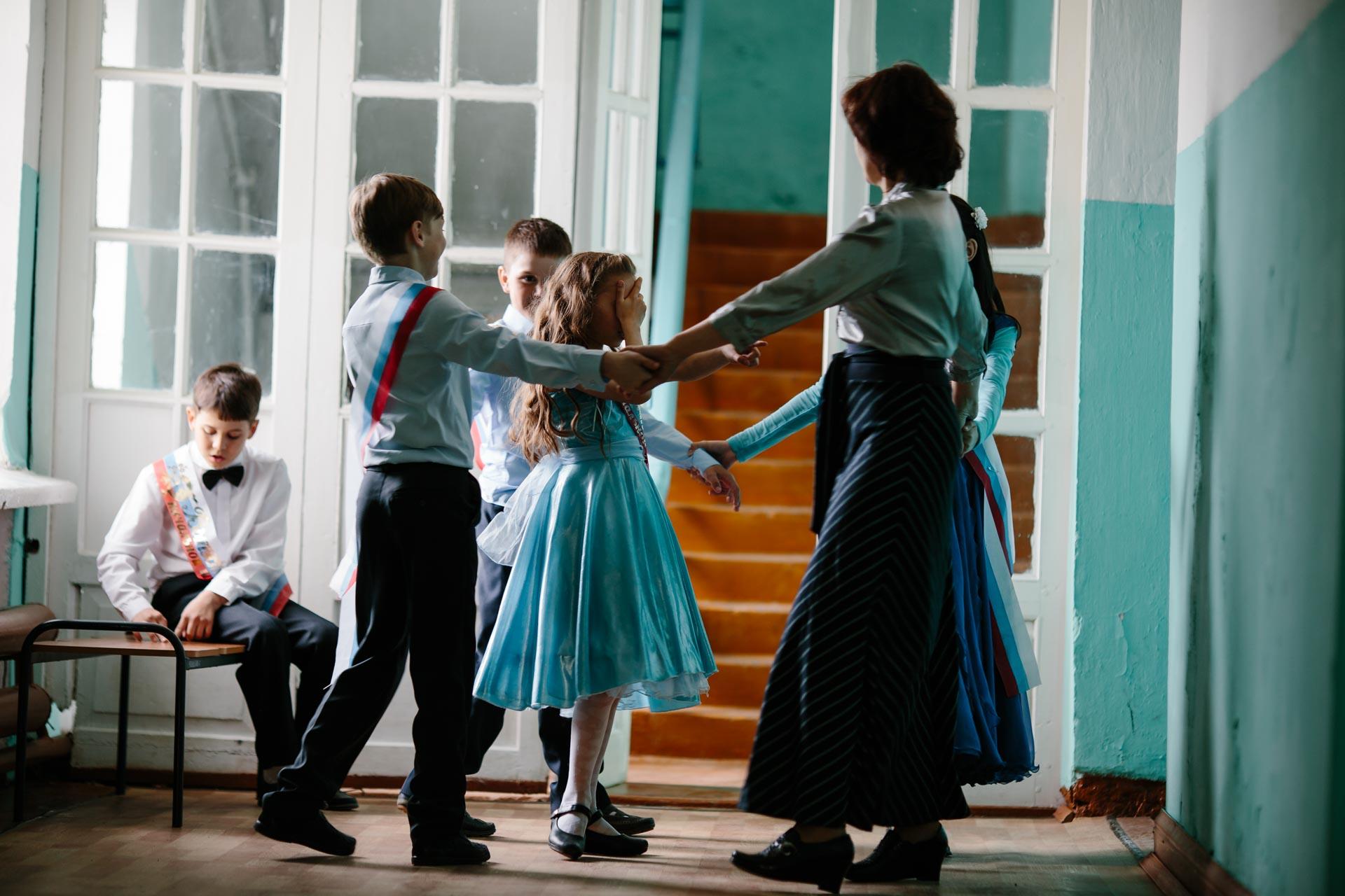 Выпускной вечер 4 класса 14 школы в Пежме