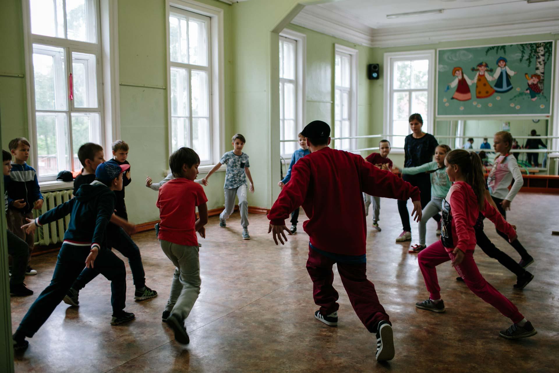 Летние танцевальные курсы в Вельске