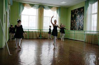 Открытые укоки у младшей и средней группы в студии классическог балета