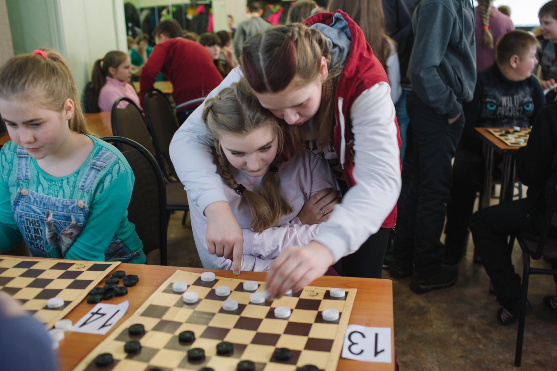 Первенство Вельского района по русским шашкам