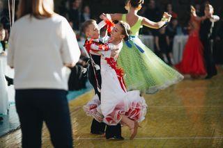 Областной конкурс бального танца в городе Вельске