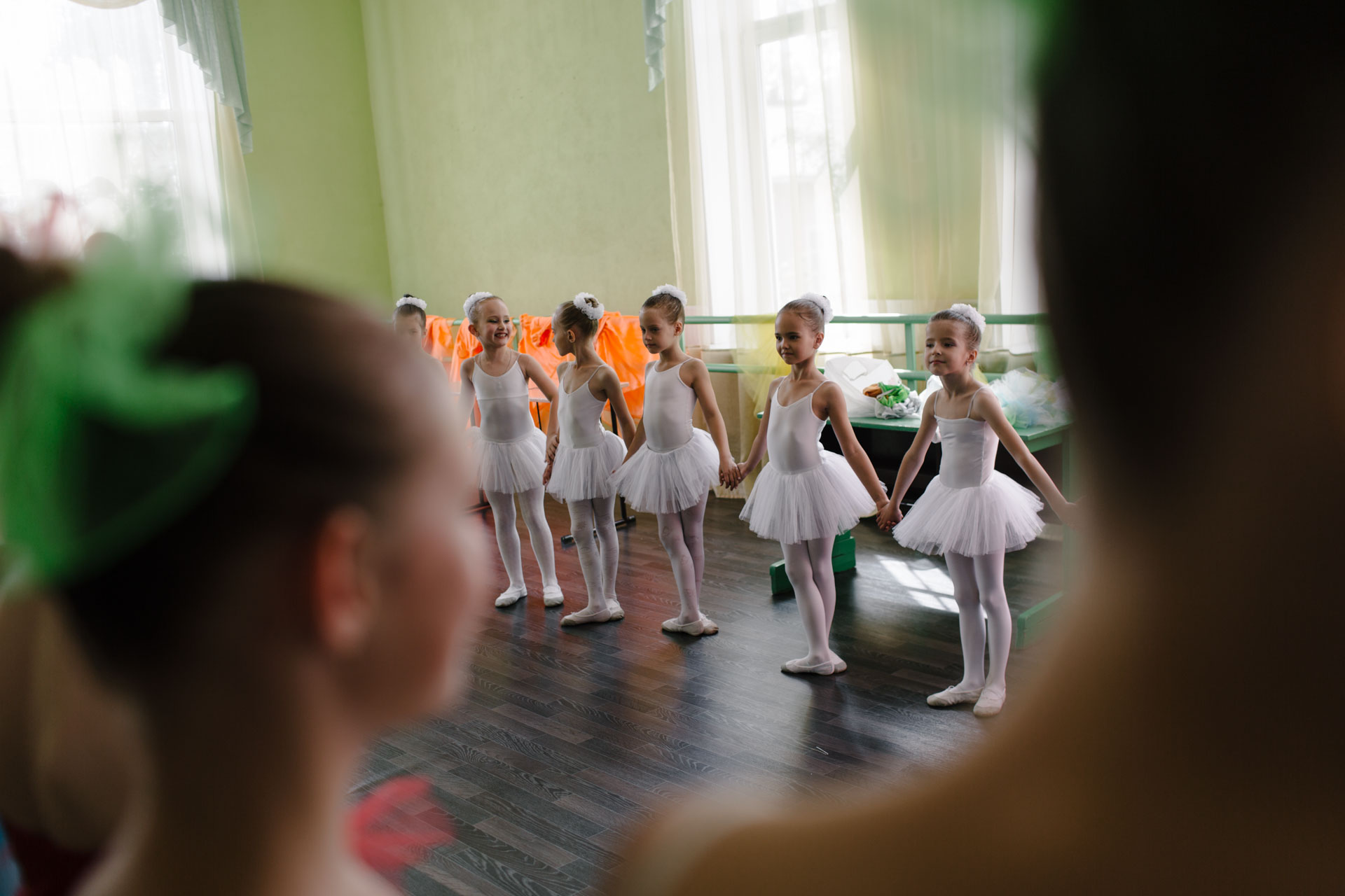 Отчетный концерт студии балета в городе Вельске