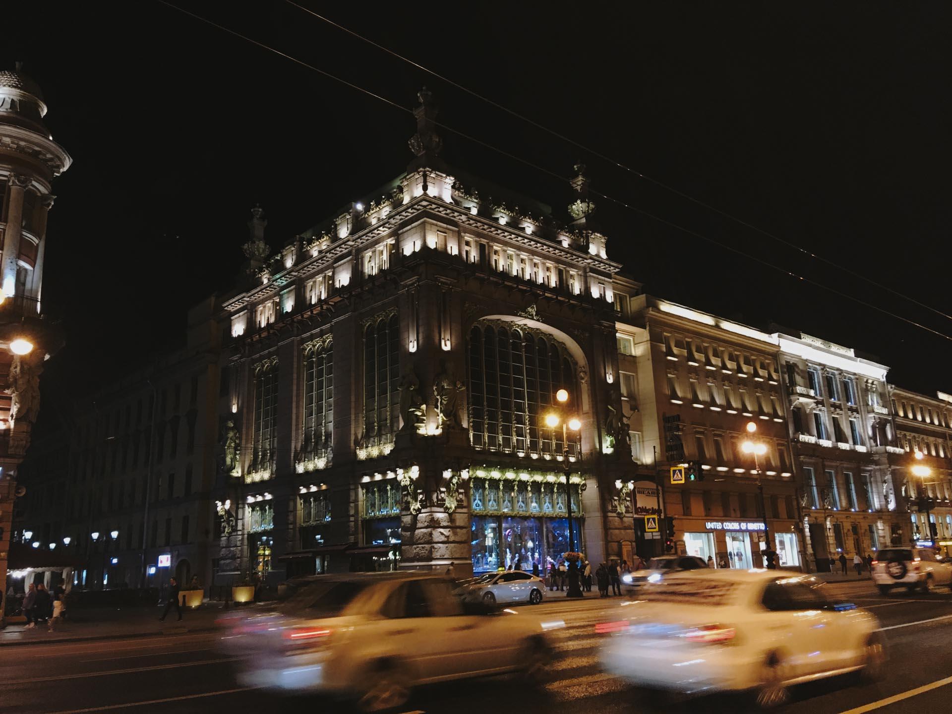 Из поездки в Питер и Москву