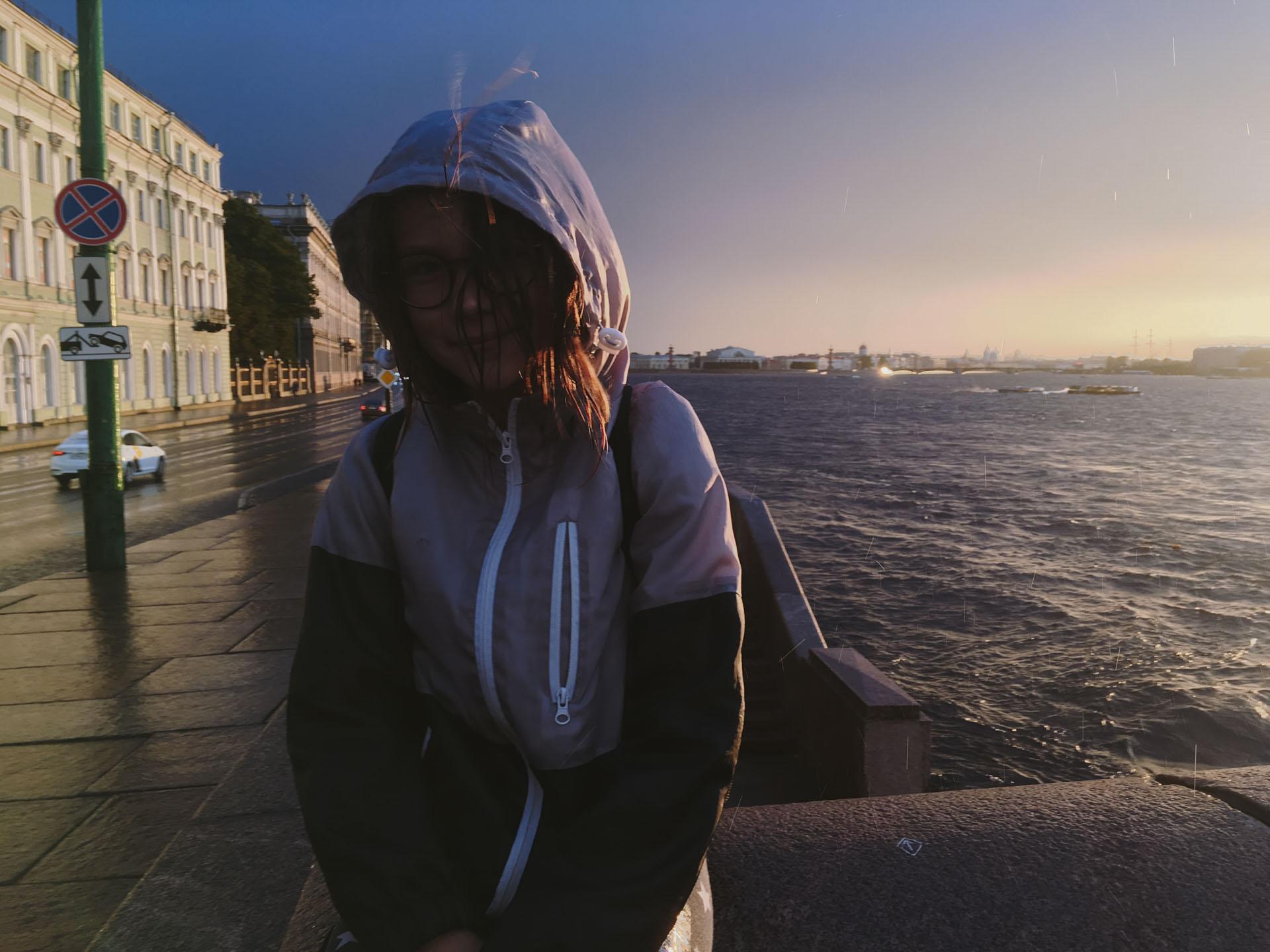 Ульяна промокла