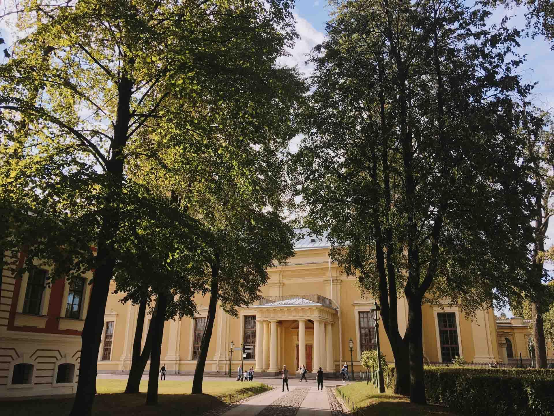 В Петропавловской крепости
