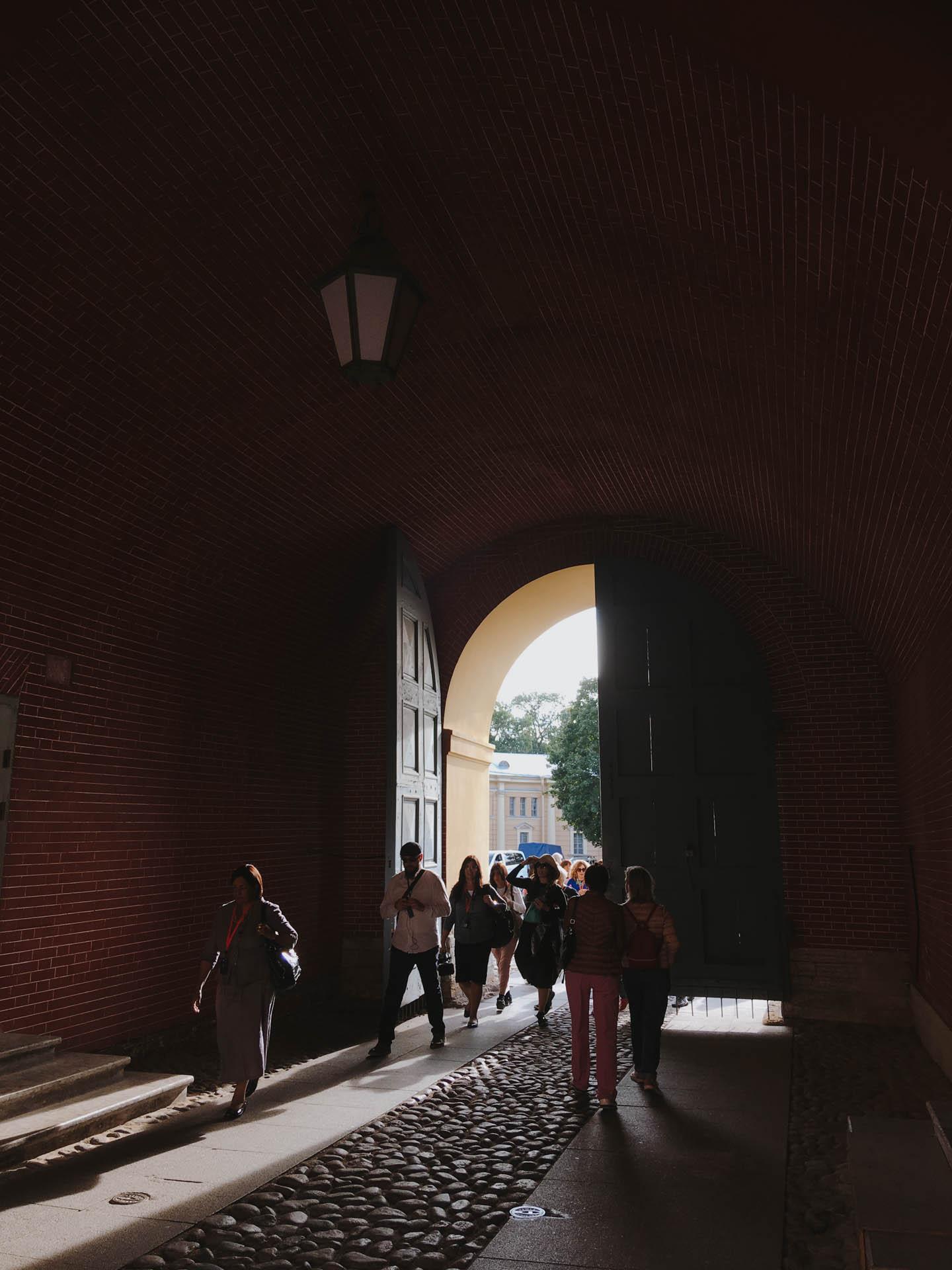 Итальянцы на экскурсии