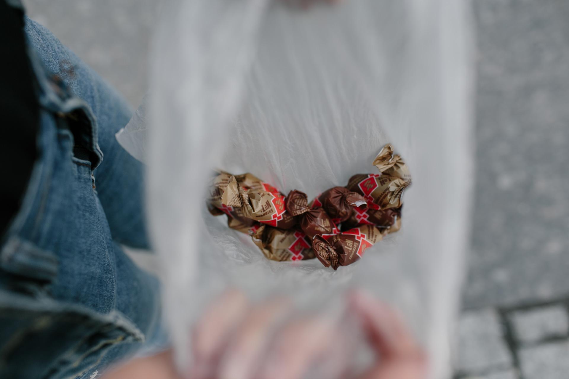 Очень вкусные конфеты