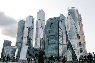 Я и Москва-Сити