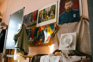 В художественной школе города Вельска
