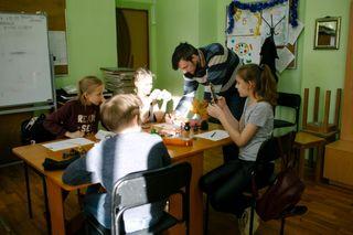 На занятиях у преподавателя Малоземова Андрея Александровича