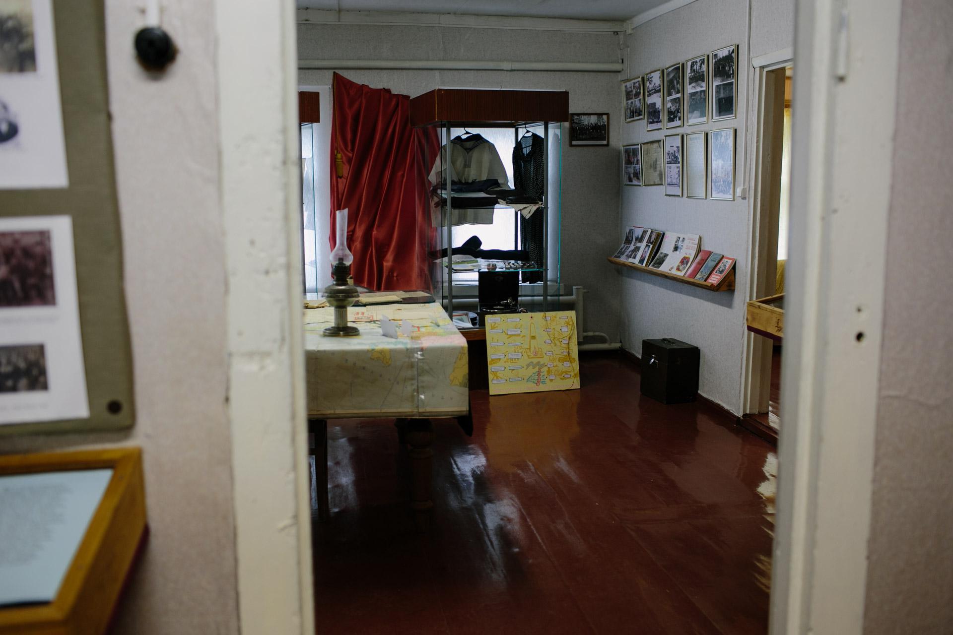 В школьном музее в поселке Судрома